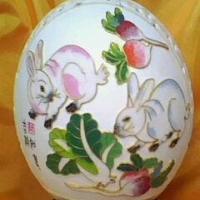 供应鸵鸟蛋工艺品 图片|效果图