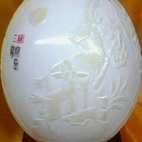 供应蛋雕浮雕工艺品 图片|效果图