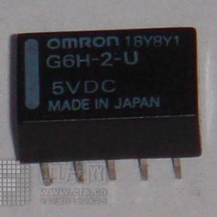 代理欧姆龙信号继电器G6H-2-5V图片