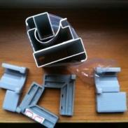 河南晶钢门铝型材生产商图片