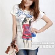 长袖女装批发长袖T恤批发广州秋季图片