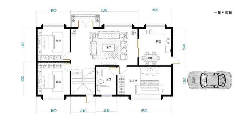 11乘7米的房子设计图