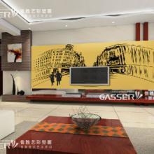 供应深圳印花墙纸壁纸定制厂家图片