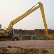 20米挖掘机加长臂图片