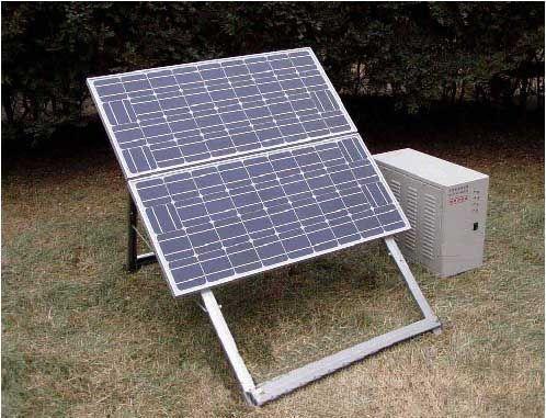 供应生产太阳能发电机