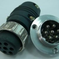 供应送丝机松下式六芯电源控制插头/插座/连接器 六芯控制插头