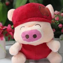 供应水果苹果麦兜猪公仔广东毛绒玩具厂
