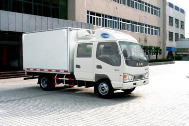 供应江淮小型最实惠的冷藏车食品冷藏车 肉类冷藏车 保鲜保温车