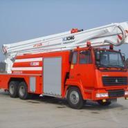 重汽牌高喷举高喷射消防车图片