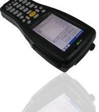 便携式条码扫描器/条码手持机/条码PDA/无线局域网功能条码数据图片