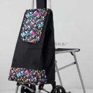 佛山购物车折叠行李车拉杆布袋车图片