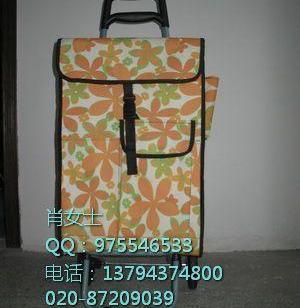 江门购物车便携折叠车礼品手拉车图片