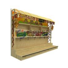 供应木质五谷架,超市粮油架,米面架