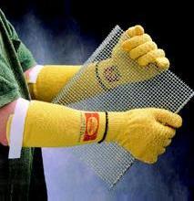Ansell重型防割手套 Kevlar抗割手套Goldknit