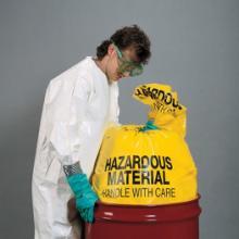 newpig酸碱性化学品垃圾袋 化学品处理袋 防化垃圾袋酸碱性化
