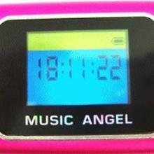 歌词显示迷你音响音乐天使迷你音响音箱铝合金外壳内置锂电池批发