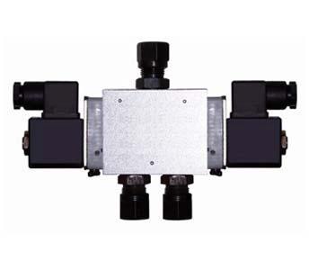 dcf23二位三通电磁空气阀双稳态电磁阀图片