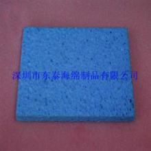 供应蓝色清洗木浆棉