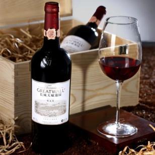 精选长城天赋葡园干红葡萄酒图片