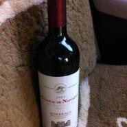 拿破仑城堡2002干红葡萄酒图片
