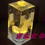LED充电吧台灯水晶酒吧台灯图片