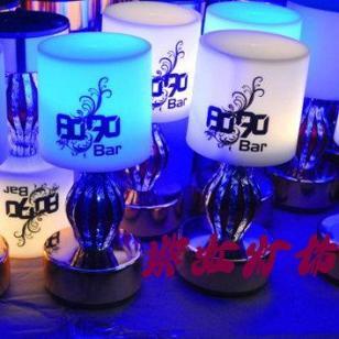 紫虹灯饰花瓶LED酒吧台灯图片