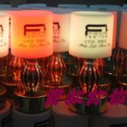 LED充电吧台灯酒吧红花瓶小台灯图片