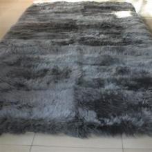 供应羊毛床毯/羊剪绒床毯/保暖床毯/家居用品/高档裘皮批发