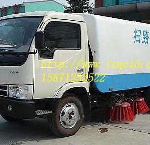 东风金霸型扫路车图片