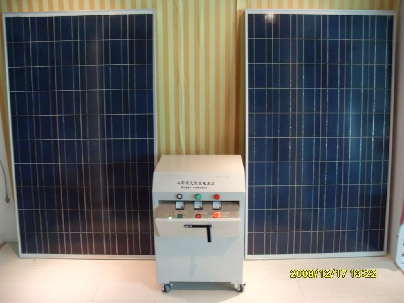 供应500W太阳能发电机组
