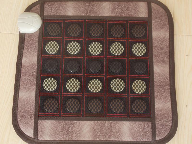 粘扣坐垫网纱玉石坐垫粘扣床垫玉石销售