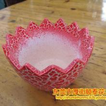 供应蛋壳盆红