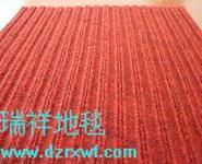 塑料软胶底pvc地毯双条纹地毯图片