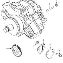 供应康明斯5256608 燃油泵cummins 5256608