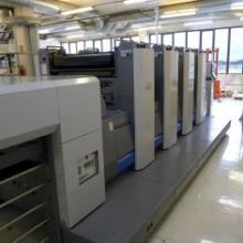 供应二手日本良明924对开四色胶印机