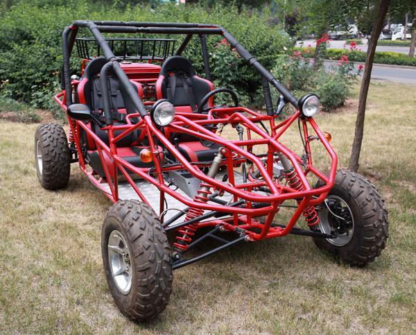 自制全地形四轮车全过程图片_沙滩车车架结构图