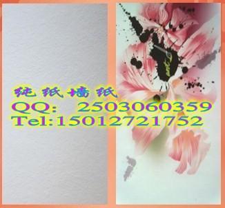 喷绘雪花纹墙纸基材料销售