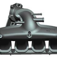 奇瑞汽车各种塑料进气歧管模具加工图片