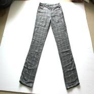 外贸服装批发英伦外贸女式格子裤图片