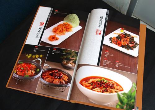 摄影菜谱 印刷专辑图 印刷-金龙排骨制作印刷样板教主图片在哪可以买图片