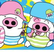 麦兜猪数字油画图片图片