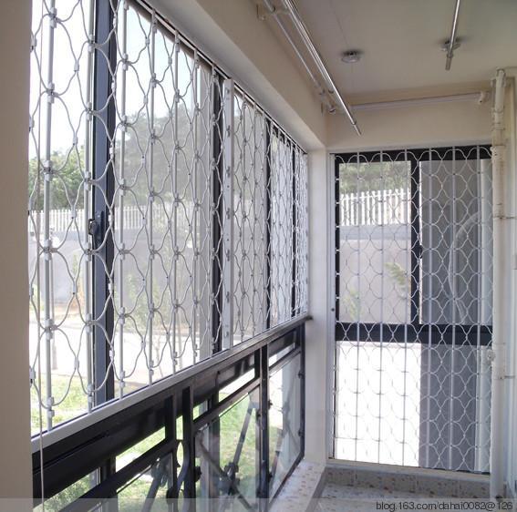 供应锰钢折叠防盗窗