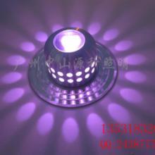 1W工艺装饰照明LED壁灯、精工车铝外壳、进口芯片灯珠、天花灯批发