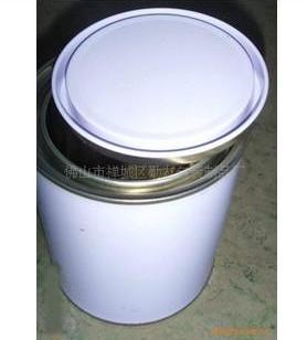 1L涂白圆罐胶水罐图片