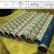 澳门回归十周年35连体整版钞图片