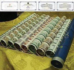 高价回收购大陆奥运钞市场价格图片