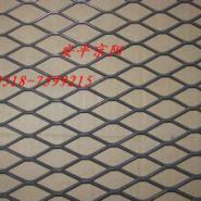 铁板菱形网图片