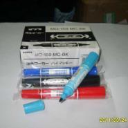 供应斑马大双头油性记号笔mo-150日本斑马环保油漆记号笔