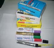 供应日本雪人牌油漆笔3/0雪人环保漆油笔批发