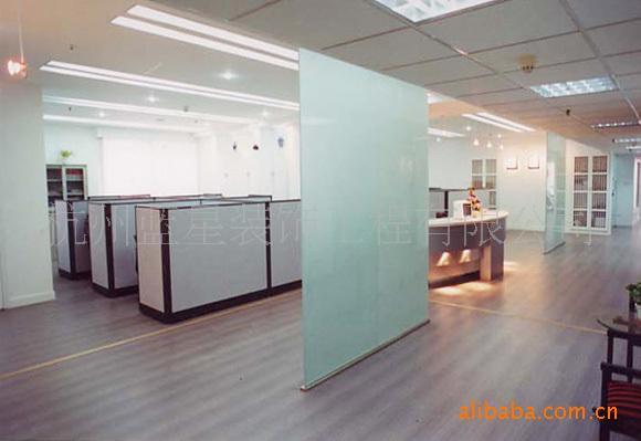 装修 威尔/钢化玻璃隔断烤漆玻璃背景磨砂玻璃图片